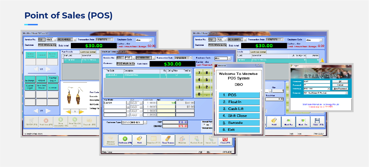 StarVision Web Mock-ERP POS-04