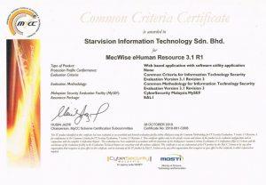 MY CC certification